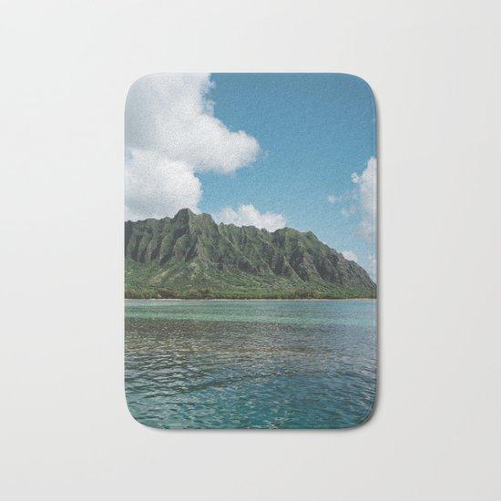 Hawaiian Mountain II Bath Mat