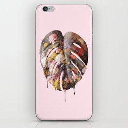 STILL LIFE MONSTERA iPhone Skin