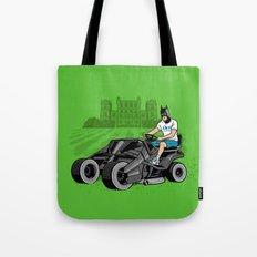 The Bat-mow-bile Tote Bag