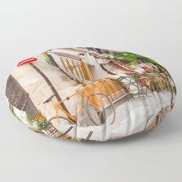 On Ile Saint-Louis Floor Pillow