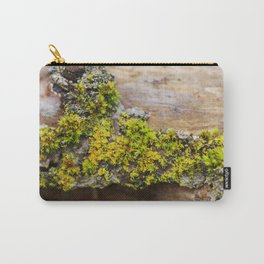 Moss on a Fallen Tree Carry-All Pouch
