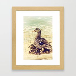 A Family Affair Framed Art Print
