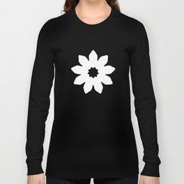 Vector Flower Long Sleeve T-shirt