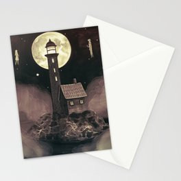 Lighthouse Ghosts Stationery Cards