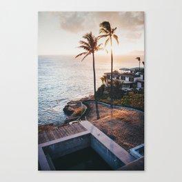 Hawaii Lookout Canvas Print