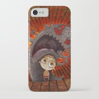 fear iPhone & iPod Cases featuring Fear by José Luis Guerrero
