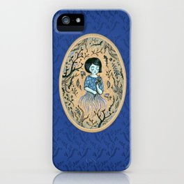 Hidden place - forest girl 2 iPhone Case