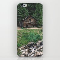 cabin iPhone & iPod Skins featuring Cabin  by Dillonmakar