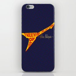 If Music Be the Food Of Love, Play On! iPhone Skin