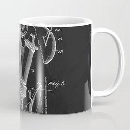 Microscope 1908 Patent Coffee Mug