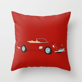 Ferrari 250 GT Califonia Spyder Throw Pillow