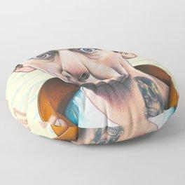 knotts, not knotts Floor Pillow