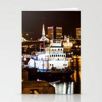portland Stationery Cards featuring Portland by Sam Cockayne