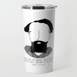 Literary Love: Charles Dickens Travel Mug