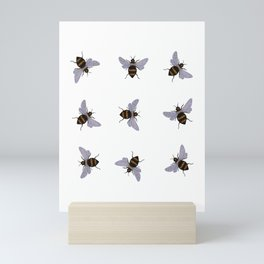 bees Mini Art Print