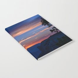Colorful Sunset - North_Rim, Grand_Canyon, AZ Notebook