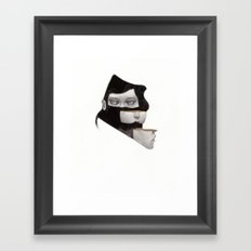 I'm Still Here Framed Art Print