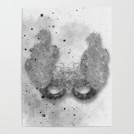 Masquerade Mask 1 Poster