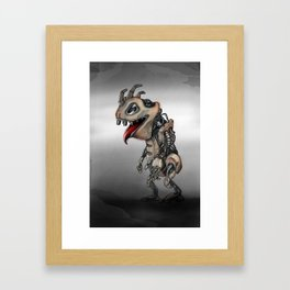 Reptile Robot Framed Art Print