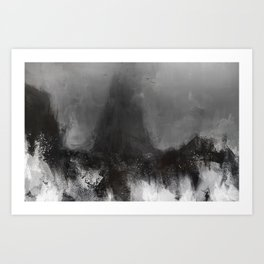 Last days of Numenor Art Print