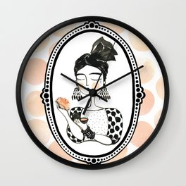 Powder Wall Clock