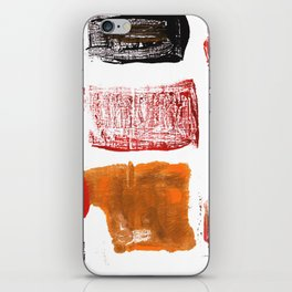 Licorice abstract watercolor iPhone Skin