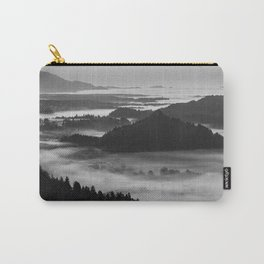 Black and White Bled at Sunset - Slovenia Carry-All Pouch