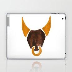 BULL HEAD ILLUSTRATION / SINGLE - SUMMER 2017 Laptop & iPad Skin