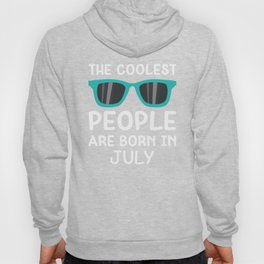 Coolest People in July T-Shirt for all Ages Dqotc Hoody