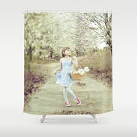 dorothy Shower Curtains featuring Dorothy by Malice of Alice