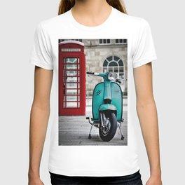 Turqoise Blue Lambretta GP T-shirt