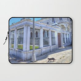 Istanbul Mosque Cat Laptop Sleeve