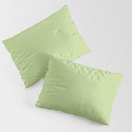 LETTUCE GREEN pastel solid color Pillow Sham