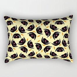 Bunnies Love Carrots I Rectangular Pillow