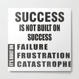 Success Metal Print