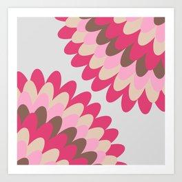 Dahlia at Home Art Print