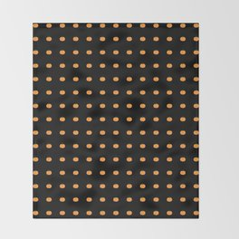 Halloween Pumpkins Throw Blanket