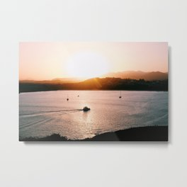 Island Sunsets Metal Print