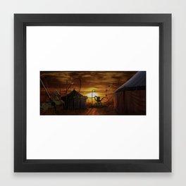 Funfair Framed Art Print