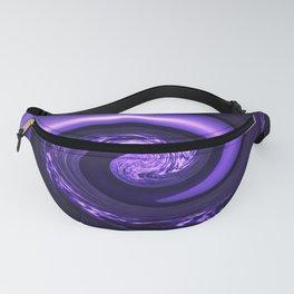 Spiral Vortex Purple G200 Fanny Pack