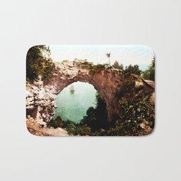 Secret Cove Vintage Seascape Bath Mat