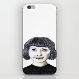 Portrait of Kimbra. iPhone Skin