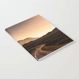 Sunset Mountain Road Notebook