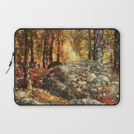 12,000pixel-500dpi - Frederick Childe Hassam - The Jewel Box, Old Lyme - Digital Remastered Edition Laptop Sleeve
