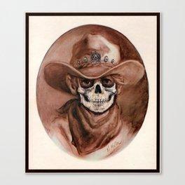 Cowboy Kid - Thrift Store Creepin' Canvas Print