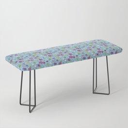 Flowers, Clovers & Diamonds Bench