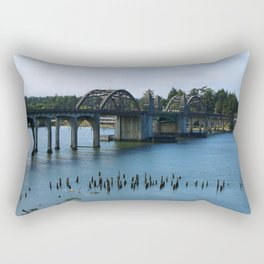 Siuslaw River Bridge - Florence Rectangular Pillow