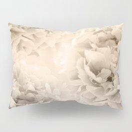 Sepia Peonies Dream #1 #floral #decor #art #society6 Pillow Sham