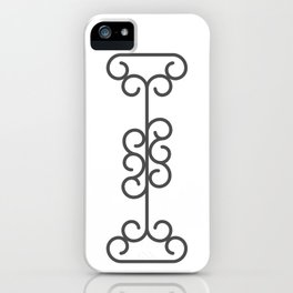 """Letter """"I"""" in beautiful design Fashion Modern Style iPhone Case"""