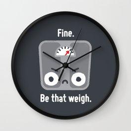 At a Loss Wall Clock